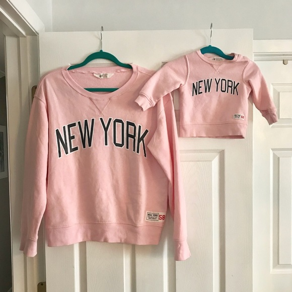 973d82074908 H&M Sweaters   Hm Mommy And Me Family Collection Ny Sweater   Poshmark